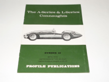 A-Series & L-Series Connaughts : The (PROFILE 42 Pritchard & Davey 1966)